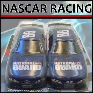 , Jr # 88 NASCAR Racing Car Christmas Ornament Set of 2