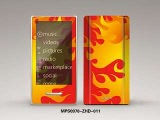 Nice Feather Protective Decal Sticker Skin Cover For ZUNE HD 32GB 16GB