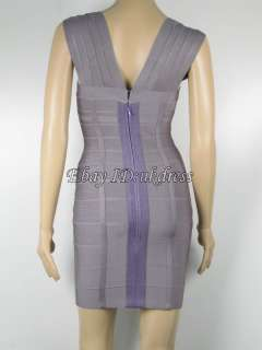 Bandage Dresses Bodycon Dress Evening Cocktail Party Prom Dresses Gray