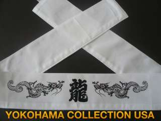 Martial Arts Sports Hachimaki RYU Dragon Headband/Japan