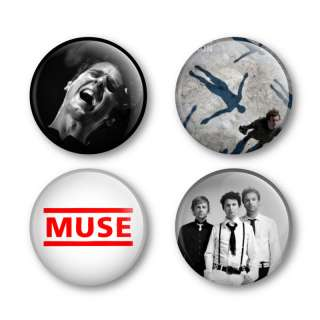 Muse Badges Buttons Pins Tickets Shirts Matt Bellamy