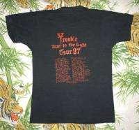 Vintage Concert SHIRT 80s TOUR T RARE ORIGINAL 1987 DOOM Saint VITUS