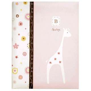 The Mollys Nursery Girl baby record book measures 9in. x 11in. and