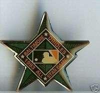 Baltimore Orioles 1993 ALL STAR GAME MLB Baseball Pin