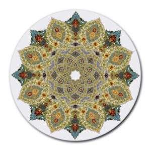 ARABIC ISLAMIC ART ROUND MOUSE PAD MOUSEPAD MAT