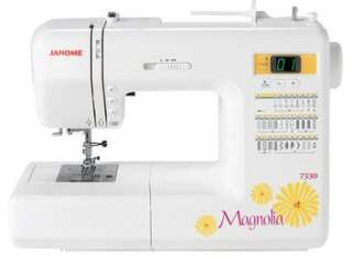 Janome Sewing Machine 7330 and 634D Serger Package Combo New