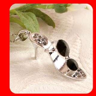HIGH HEEL SHOE Swarovski Crystal Gift pendant necklace
