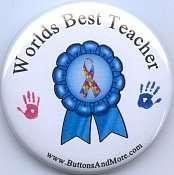 B301   Worlds Best Teacher   Pin