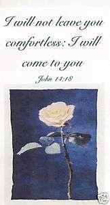 religious christian bible verse magnet John 1418