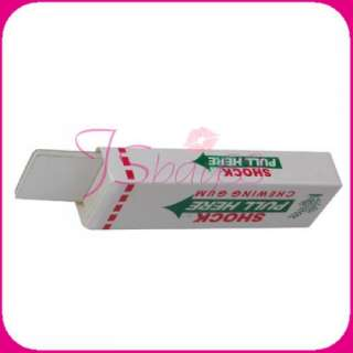 Electric Shock Shocking Chewing Gum Funny Toy Gift New