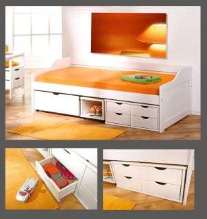 Floro, das weiße Bett bietet nicht nur höchsten Komfort, sondern