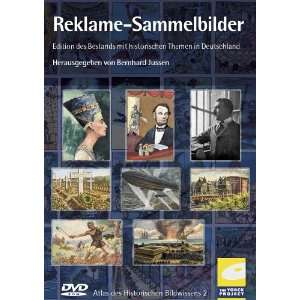 Reklame Sammelbilder. DVD ROM für Windows ab 95/ MacOS ab 8.1. Atlas
