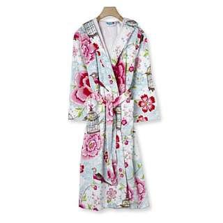 Birds of Paradise cotton robe   PIP STUDIO   Robes   Nightwear