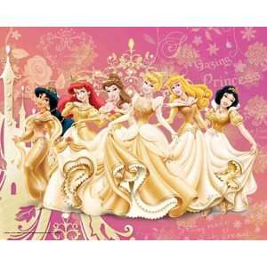 Empire 150806 Disney Princess Gold, Mini Poster ca. 50 x 40 cm