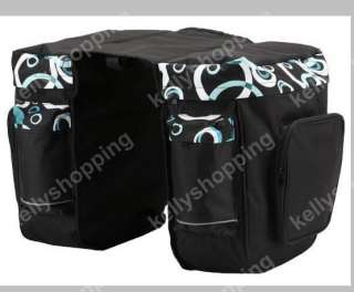 Cycling Bicycle Bag Bike back Seat Bag Pannier NEW