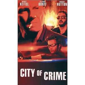 City of Crime [VHS]: Harvey Keitel, Stephen Dorff, Famke Janssen