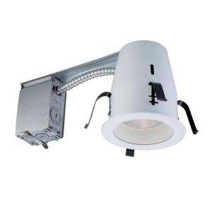 Commercial Electric 4 in. Non IC Remodel Recessed Lighting Kit (K18