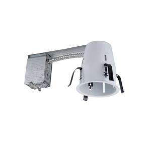 Commercial Electric 4 in. Aluminum Downlight Recessed Light Housing (6