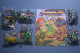 Burger King 1997 The Land Before Time Set of 6 MIP