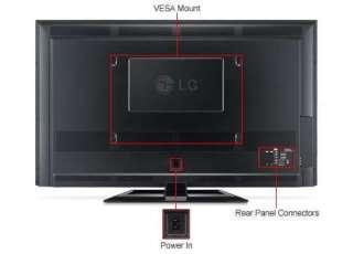 LG 50PA4500 50 Class Plasma HDTV 720p, 1024 x 768, 16:9, 600Hz