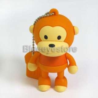 New 2GB 4GB 8GB 16GB Cartoon Monkey USB 2.0 Flash Memory Pen Drive