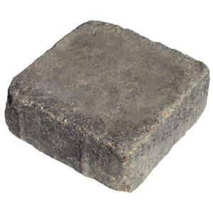 Basalite Tumbled Square Paver   Cottage Blend 100002825 at The Home