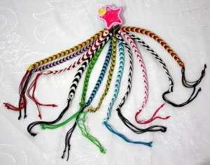 Lot of 12 Handmade Assorted FRIENDSHIP String Bracelets