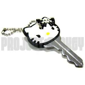 Hello Kitty Key Cover Cap Angry Goth Gothic Punk Rock Japan