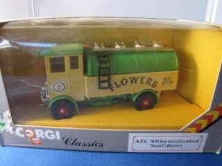 CORGI CLASSICS FLOWERS TRUCK AEC 508 5TON CABOVER