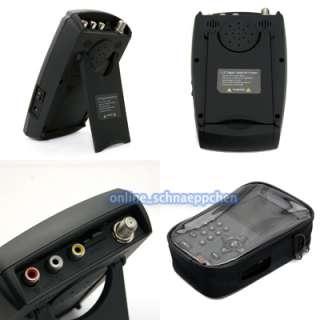 LCD Tragbar Satellite Sat Anlage HD Digtial Handheld Sat Finder