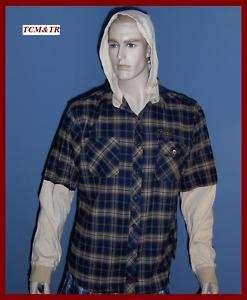Fender Guitars Custom Shop Flannel Shirt NWT $75 XXL