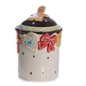 Dose COOKIES, Keksdose, Porzellan, Weihnachten, 17 cm: .de