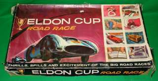 ELDON CUP 132 SCALE SLOT CAR RACING ELECTRIC ROAD RACE