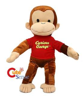 Curious George 20 Large Stuffed Plush Doll Kelly Toy |