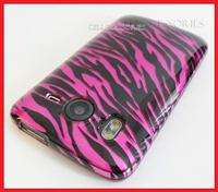 HTC INSPIRE 4G AT&T PINK ZEBRA SNAP ON HARD COVER CASE PHONE