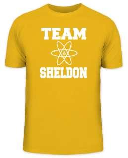 Shirtstreet24 Kult T Shirt TEAM SHELDON Big Bang Theory Funshirt