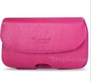 LEATHER POUCH fit iPHONE 3G/S/4/Ss MOPHIE JUICE PACK AIR/LITE CASE