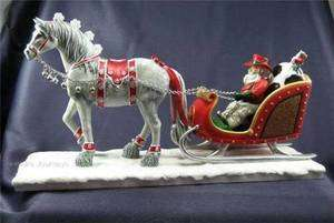 2011 TRAIL OF PAINTED PONIES *COWBOY CHRISTMAS CENTERPIECE* LTDED 1E