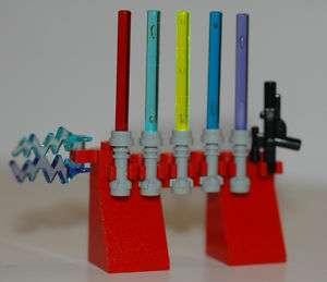 LEGO STAR WARS Waffen Laserschwert & Blaster & Blitz