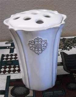 Southern Living Arrange It Small White Flower Vase NNT