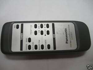 Panasonic Portable CD System Remote Control EUR648257