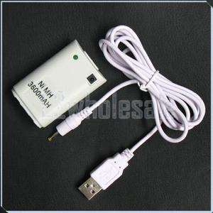 Wireless Remote Controller CHARGER+BATTERY For Xbox 360