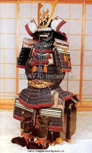 Rüstung art Samurai Suit of Armour wearable 010★