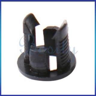 20pcs 5mm Black Plastic Led Holders Clip Case for LEDs