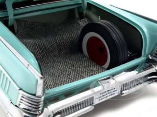 1958 buick limited closed convertible platinum edition die cast model