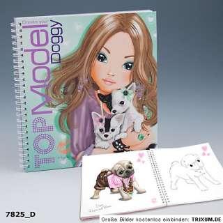 DOGGY Hunde Malbuch von Depesche Create your Top Model * 7825
