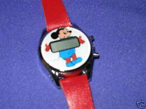 Disney Mickey Mouse Digital Watch Wholesale Lot #1 1985