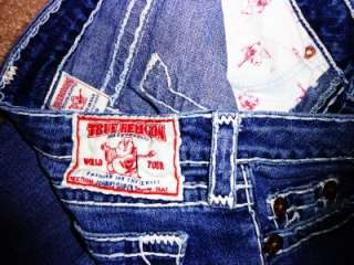 Religion JOHNNY SUPER T Low Rise Stretch Straight Leg Jeans EUC 29x33