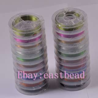 FREE SHIP 20meters Mix Color Nice Copper Wire EW5677