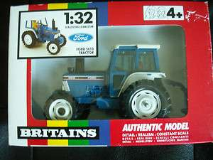 Britains Ford 5610 Blue Tractor   Scale 132   Die Cast Metal   9527